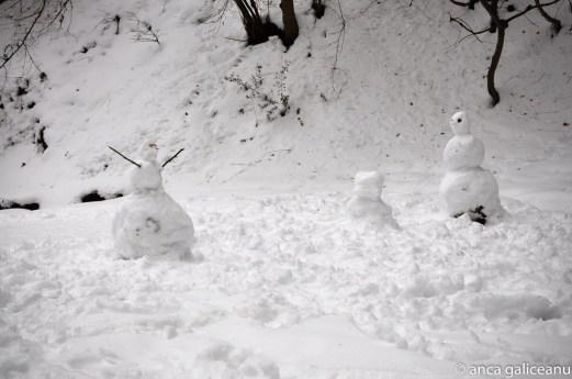 snowmen picnic-1