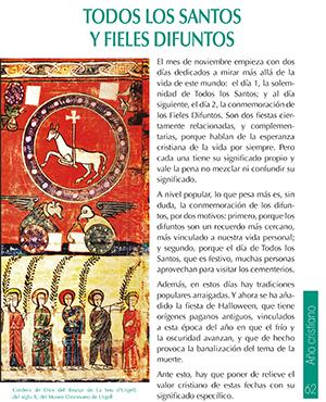 Hoja verde MD: Todos los santos y Fieles difuntos