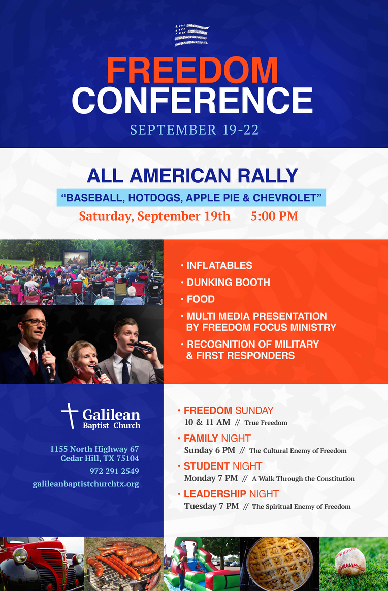 Freedom Conference: All American Rally