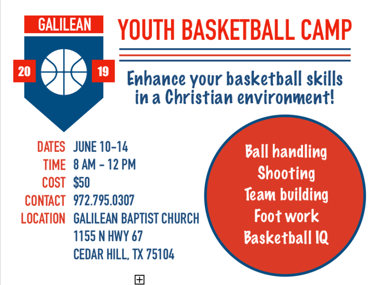 Youth Basketball Camp