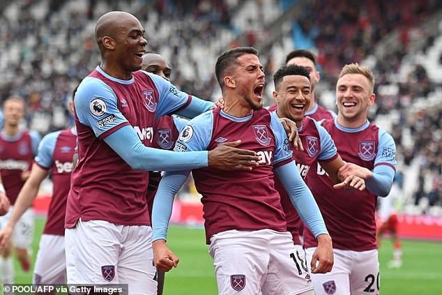 West Ham 3-0 Southampton: David Moyes' side secure sixth and place in the  Europa League - Galileo News