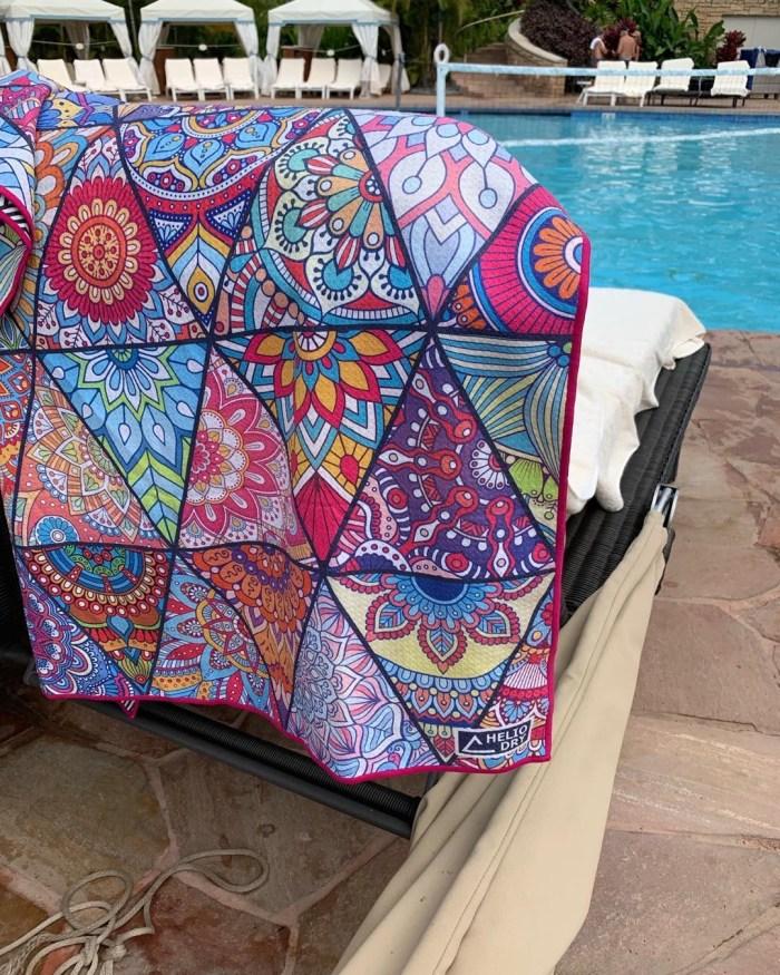 sand free beach towel