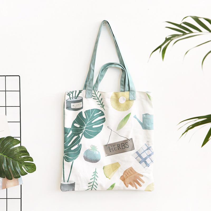 CorlorFul Canvas Tote Bag