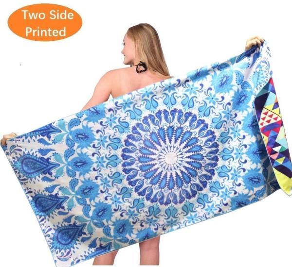 Suede Beach Towel