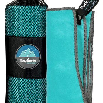 suedu beach towel carry bag