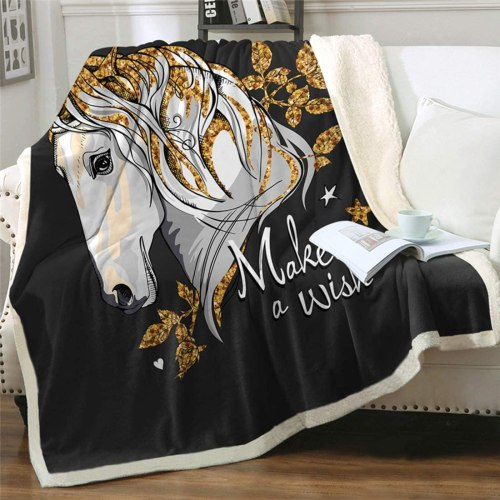 print amazon throw blankets