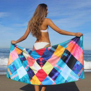GoBreezie sand free beach towel