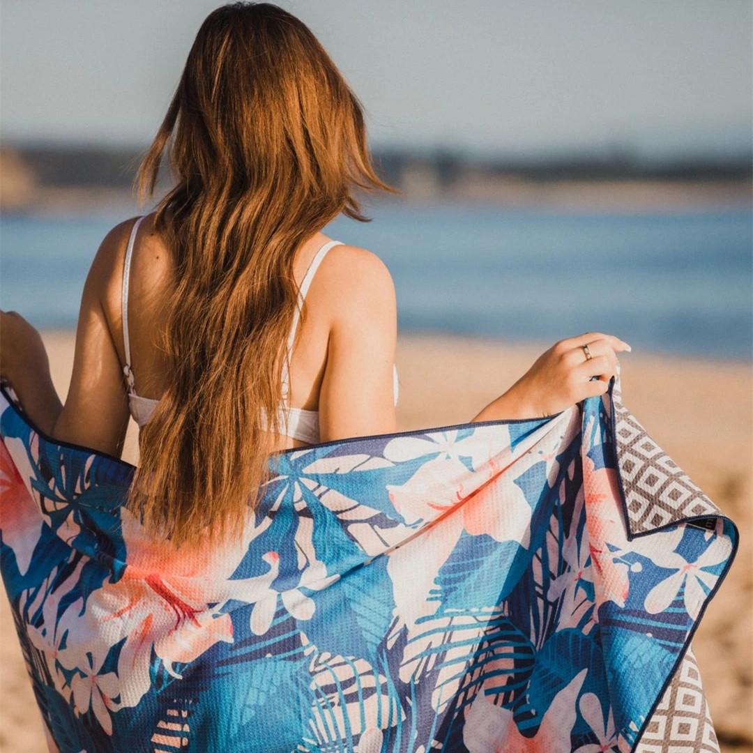 classic cotton beach towel