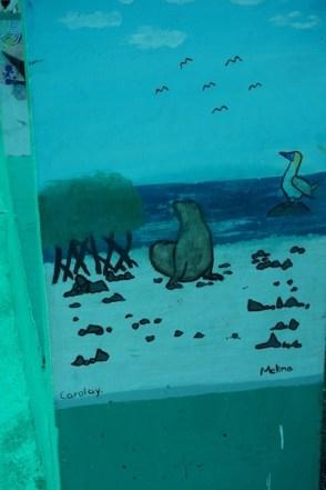 painting harbor wildlife