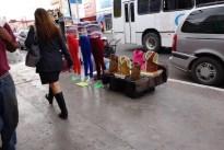 Sidewalk vendor.