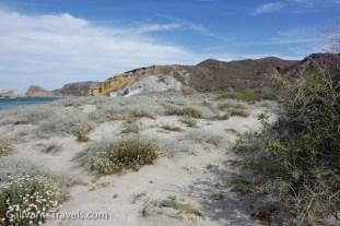 Along the dunes at Ranchito Santa Ana