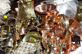 Shiny stuff for sale on the street