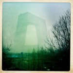 CCTV Building Shrouded in Pollution