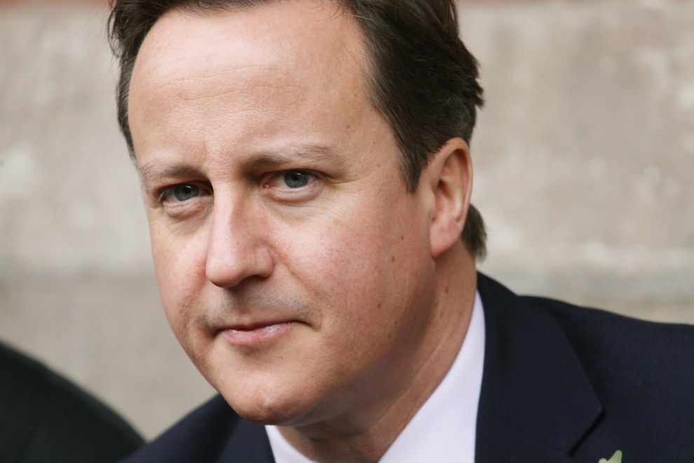 British Prime Minister David Cameron in Beijing, China. 2010