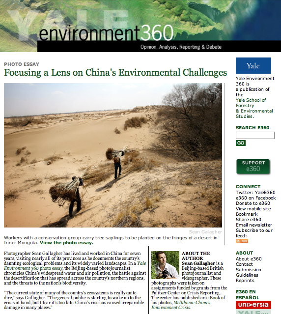 Yale Environment 360