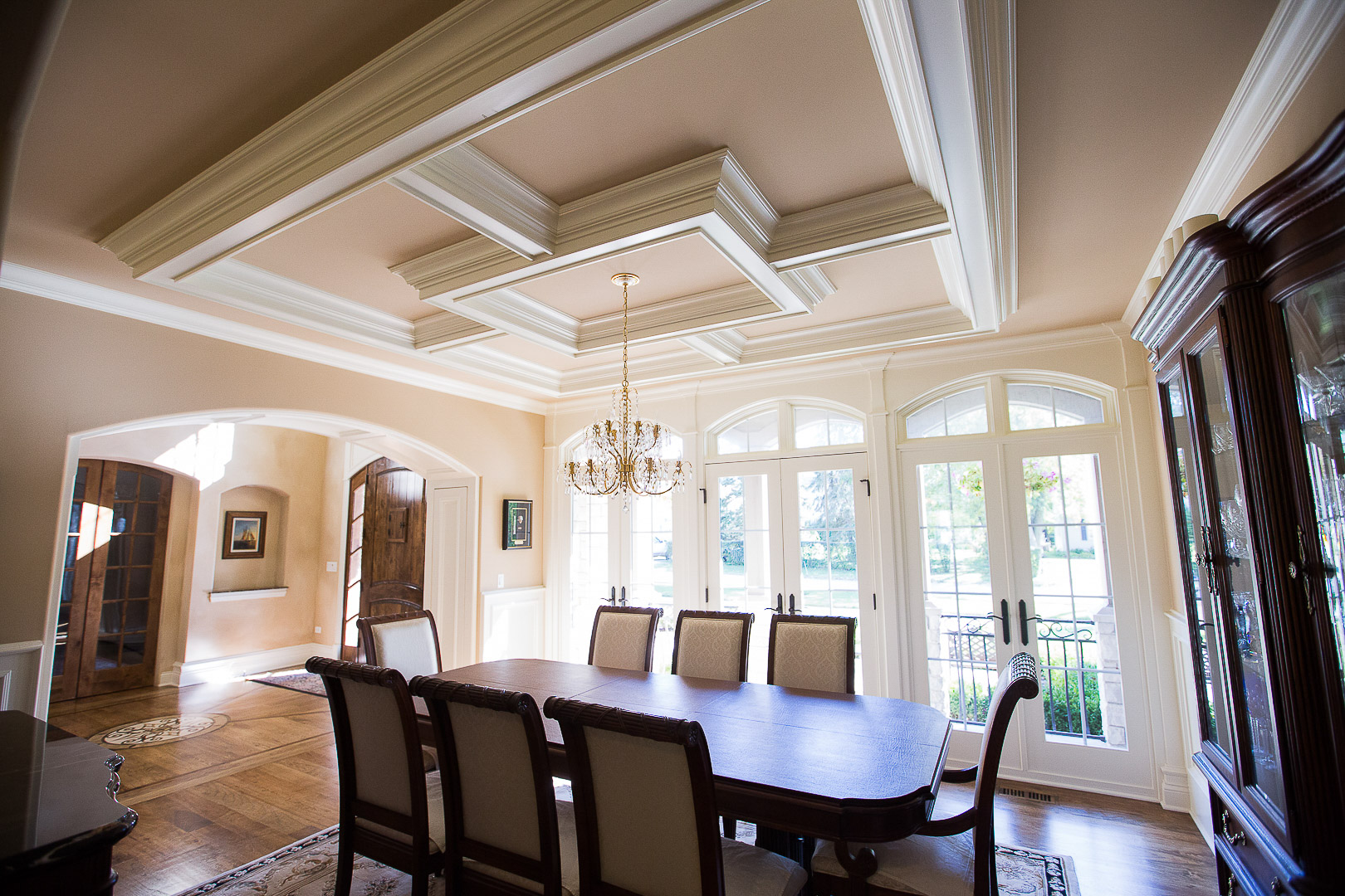 formal-dining-room-french-country-style | Gallagher Arch