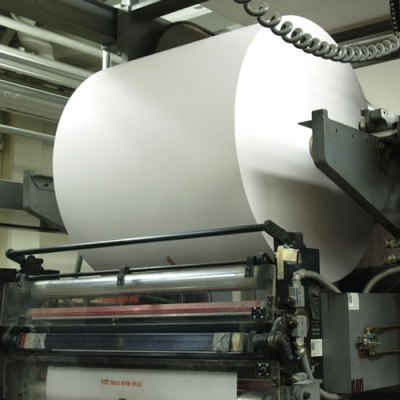 Urethane in paper production applications
