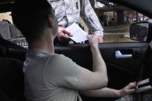 speeding ticket - usually a petty misdemeanor