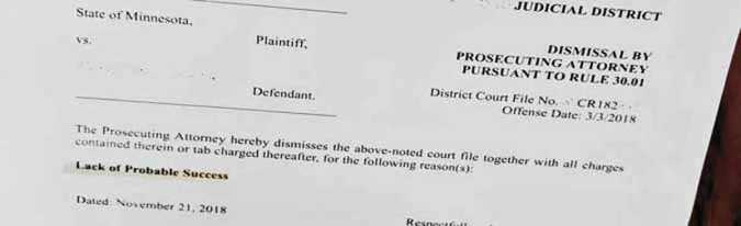 all charges dismissed