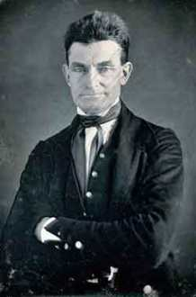 John Brown. Convicted and hanged for fighting for the abolition of slavery