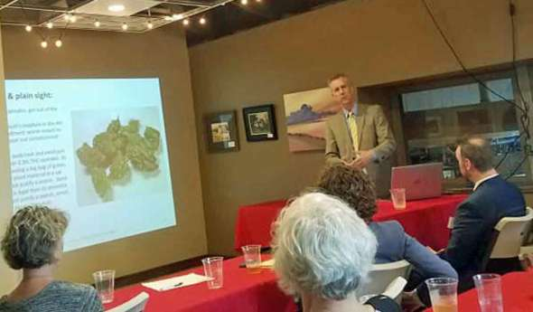 Thomas Gallagher teaches DUI-marijuana & Hemp Defenses
