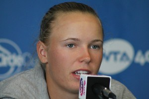 Caroline Wozniacki press conference