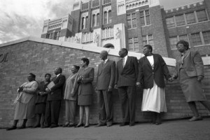 The Little Rock Nine return 50 years later.