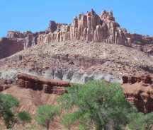 Castle Rock - Capitol Reef NP