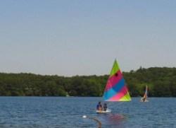 gull pond sail boat