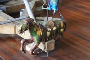 Handpainted Carousel Horse