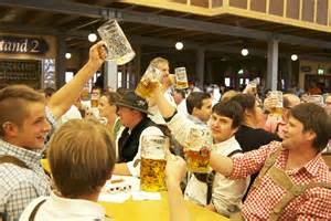 Lufthansa Crew Takes Off In Traditional Bavarian Dress During Oktoberfest
