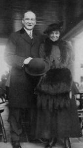 Wedding Photo of Pierre & Alice DuPont 1915