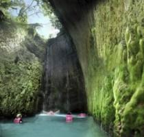 Xcaret river swim 2