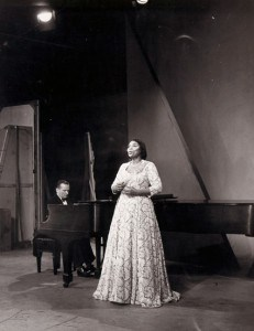 Marian Anderson in Concert