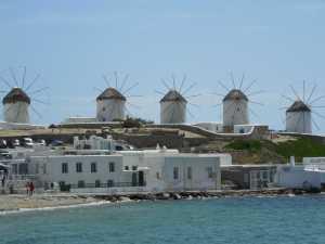 Windmills on Mykonos
