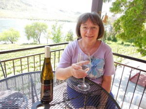 Wine tasting Columbia River
