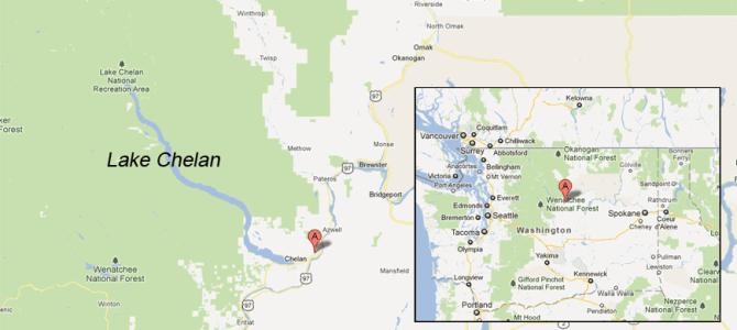 LAKE CHELAN, A HIGH DESERT GEM in Washington State.