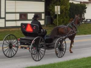 Traveling Amish Style