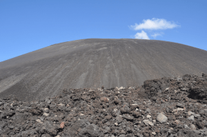 Cerro Negro volcano, one of the world's youngest.