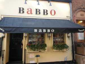 Mario Bitali's Babbo Restaurant