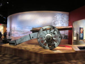 """Lafayette's"" cannon on display at the Colonial National Historical Park Museum."