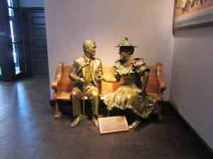 Nashville and Opry Stars Ray Acuff and Minnie Pearl.