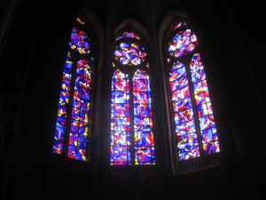 Chagall Stainglass Windows - Reims Cathedral.