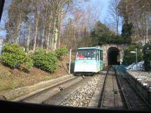 The Merkur Funicular Railway Badeb-Baden.