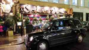 The London Black Cab.