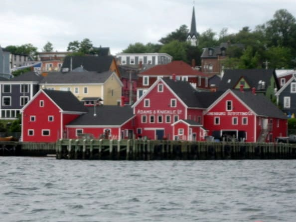 The Edge of the Sea; Nova Scotia