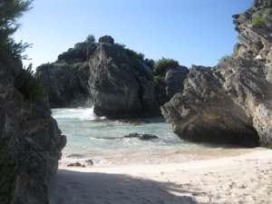 Bermuda's Secluded Horseshoe Bay.
