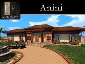 Anin Mesh Hawaiian House Second Life