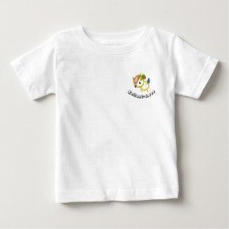 simple T-shirt バンビちゃん ベビーTシャツ