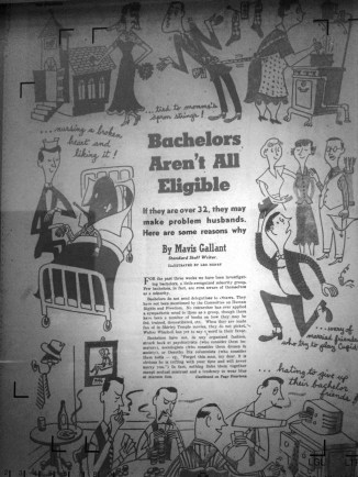 Bachelors Aren't All Eligible 1